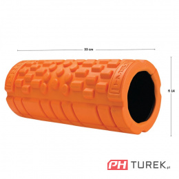 FS110 ORANGE 33CM WAŁEK FITNESS/ROLLER HMS